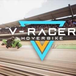 V Racer Hoverbike